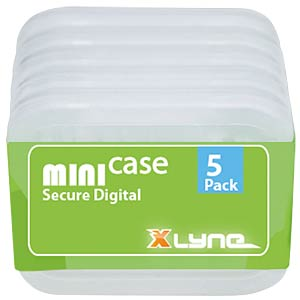 SD/microSD card box, pack of 5 XLYNE 177568