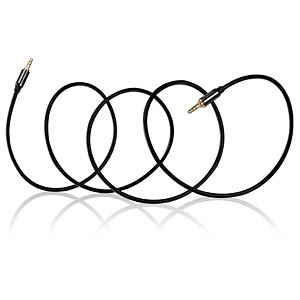 Audio Kabel, 3,5 mm Stereo Klinkenstecker, 0,5 m DELEYCON MK-MK139