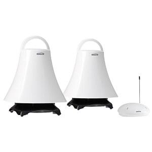 Wireless 360° stereo bathroom speakers MARMITEK 08025