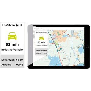 "15 cm/6"" navigator with Lifetime TomTom Traffic (152 countries)