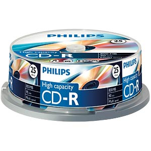 Philips CD-R 800, Multi Speed, Spindel 25 PHILIPS CR8D8NB25/00