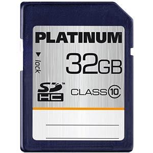 SDHC-Speicherkarte 32GB Class 10 PLATINUM 177118