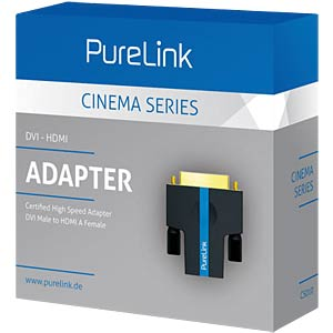 DVI/HDMI adapter - cinema series PURELINK CS010