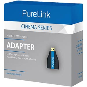 Micro HDMI/HDMI Adapter - Cinema Serie PURELINK CS040