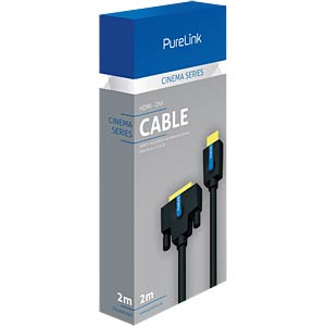 HDMI/DVI Kabel, Cinema Serie, 2 m PURELINK CS1300-020