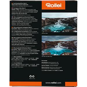 GND-Filter, Rechteckfilter, 100mm, GND4 (0,6) ROLLEI 26181