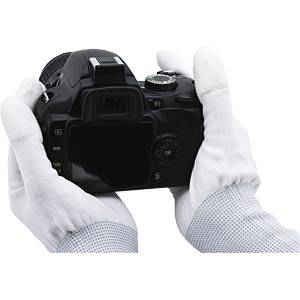Lens Cleaning Gloves Size L ROLLEI 27014