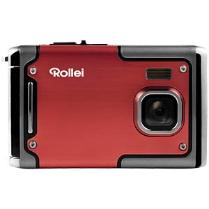 Waterproof Digital Camera, 8 MP, 8x Zoom, red ROLLEI 10063
