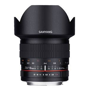 10mm F2.8 ED AS NCS CS Nikon AE SAMYANG