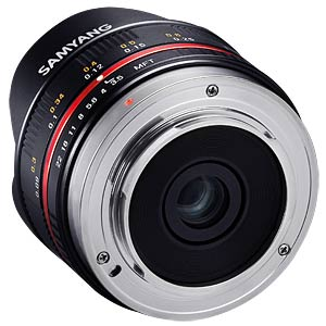 7,5mm F3.5 FISH-EYE MFT Black SAMYANG