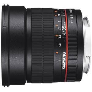 Objektiv, Foto, 85mm, F1.4 AS IF UMC, Nikon AE SAMYANG