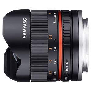 8mm F3.5 UMC FISH-EYE II Nikon AE SAMYANG