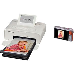 Fotodrucker, 300 x 300 dpi, weiß CANON 2235C002