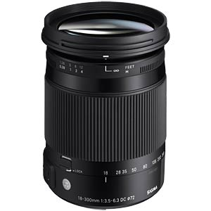 18-300mm F3.5-6.3 DC OS HSM / Contemporary / Nikon SIGMA 886955