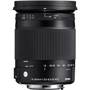 18-300mm F3.5-6.3 DC OS HSM / Contemporary / Canon SIGMA 886954