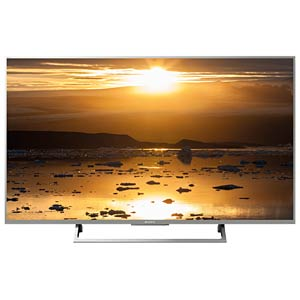 Fernseher, 139cm/55, UHD-TV, HDR, Android TV, EEK A SONY KD-55XE8096BAEP