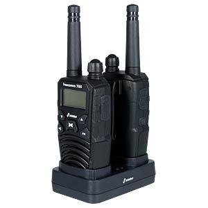 PMR Funkgerät, 2-er Set, IPX2, schwarz STABO 20700