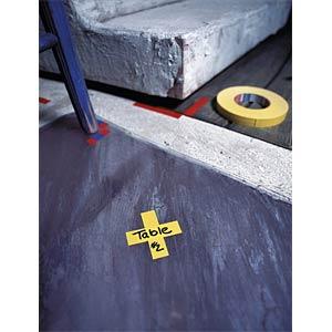 Gewebeband tesaband® Premium, offenes Gewebe, 38 mm, schwarz TESA 04651-00507-00