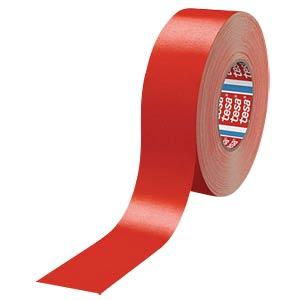 Gewebeband tesaband® Premium, offenes Gewebe, 50 mm, rot TESA 04651-00528-00