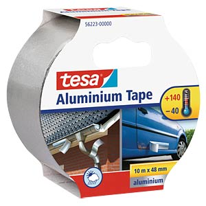 Aluminium Tape, 10 m x 50 mm TESA 56223-00000-01