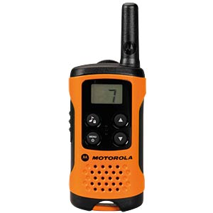 PMR Funkgerät, 2-er Set, orange MOTOROLA TLKR T41 ORANGE