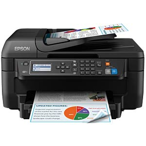 4in1 Multifunktionsdrucker mit WLAN, Duplex EPSON C11CF76402