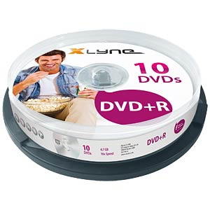 xlyne DVD+R 4,7GB, 16x Speed, Spindle 10 XLYNE 3010000