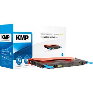 Toner - Samsung - cyan - C4092S - rebuilt KMP PRINTTECHNIK AG 1363,0003