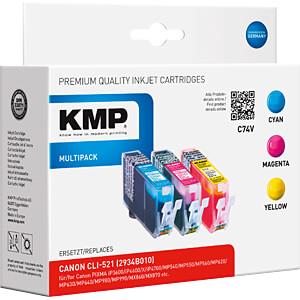Tinte, MP - CLI-521 - rebuilt KMP PRINTTECHNIK AG 1510,0005