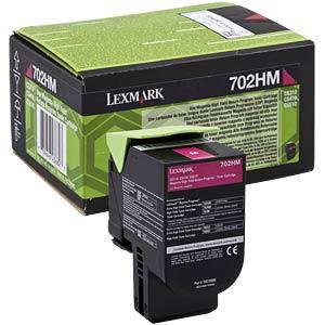 Toner - Lexmark - magenta - 702HM - original LEXMARK 70C2HM0