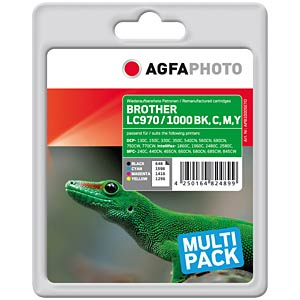Tinte - Brother - Multipack - refill AGFAPHOTO APB1000SETD