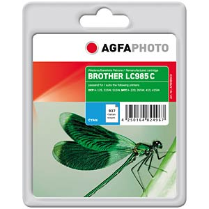 Tinte - Brother - cyan - refill AGFAPHOTO APB985CD