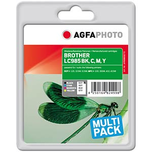 Tinte - Brother - Multipack - refill AGFAPHOTO APB985SETD