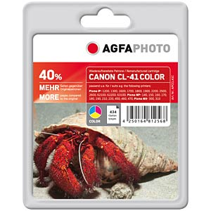 3-colour: Canon PIXMA MP150/170/180/450... AGFAPHOTO APCCL41C