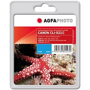 Tinte - Canon - cyan - CLI-521 - refill AGFAPHOTO APCCLI521CD