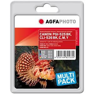 Tinte - Canon - Multipack - CLI-526 - refill AGFAPHOTO APCCLI526SETD