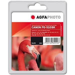 Tinte - Canon - schwarz - PG-510 - refill AGFAPHOTO APCPG510B