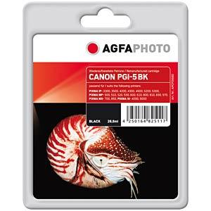Tinte - Canon - schwarz - PGI-5 - refill AGFAPHOTO APCPGI5BD