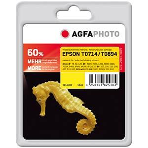 Tinte - Epson - gelb - T0714 - refill AGFAPHOTO APET071_T089YD