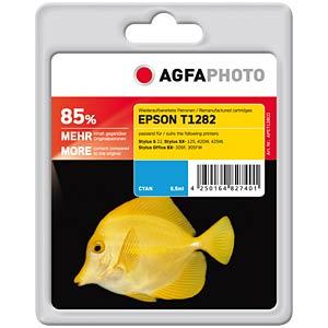 Tinte - Epson - cyan - T1282 - refill AGFAPHOTO APET128CD