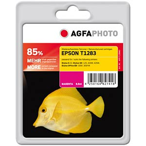 Tinte - Epson - magenta - T1283 - refill AGFAPHOTO APET128MD