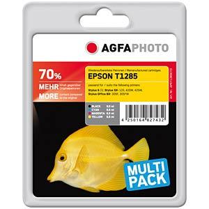Tinte - Epson - Multipack - T1285 - refill AGFAPHOTO APET128SETD