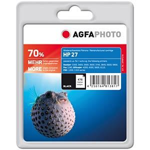 Tinte - HP - schwarz - 27 - refill AGFAPHOTO APHP27B