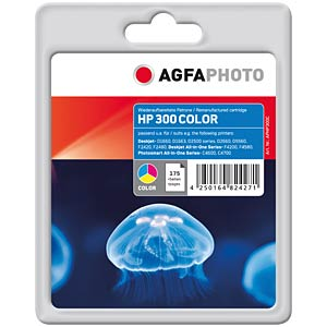 Tinte - HP - 3-farbig - 300 - refill AGFAPHOTO APHP300C