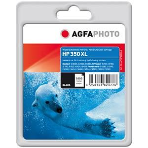 Tinte - HP - schwarz - 350XL - refill AGFAPHOTO APHP350XLB