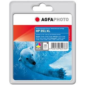 3-colour: HP Deskjet D4260... AGFAPHOTO APHP351XLC