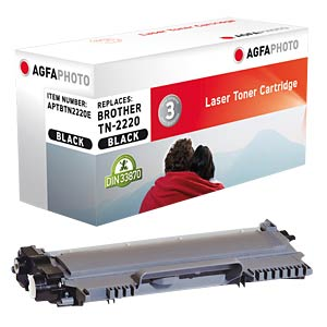 Toner for Brother, black, 2,600 pages AGFAPHOTO APTBTN2220E