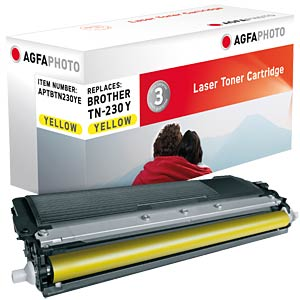 Toner for Brother HL-3040, yellow AGFAPHOTO APTBTN230YE