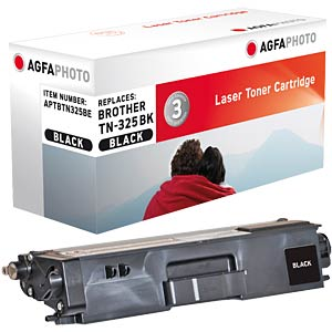 Toner - Brother - schwarz - TN-325 - rebuilt AGFAPHOTO APTBTN325BE