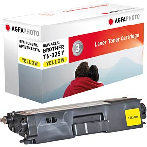 Toner for Brother HL-4150, yellow AGFAPHOTO APTBTN325YE